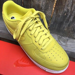 Nike Shoes - Nike Lab Air Force 1 Low Mens Sz 13 Bright Citron aba2453ab
